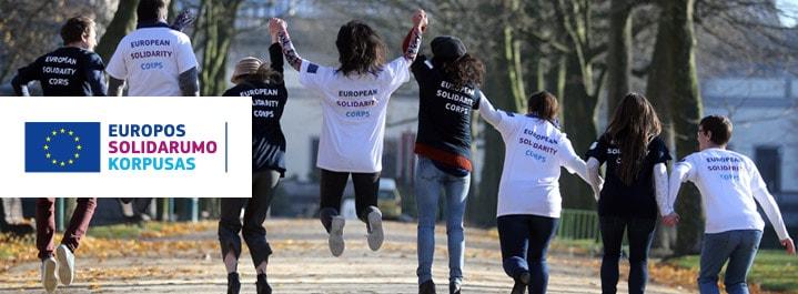 Europos solidarumo korpusas yra nauja Europos Sąjungos programa, kuria siekiama suteikti jauniems žmonėms galimybių prisidėti prie vietinių bei globalių problemų sprendimo.